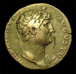 Hadrianus, keizer met twee gezichten @ Enschede
