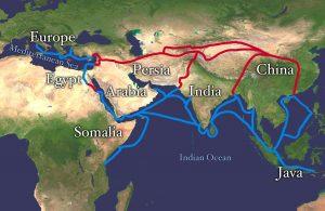 Het ontstaan van de Zijderoute @ Amersfoort