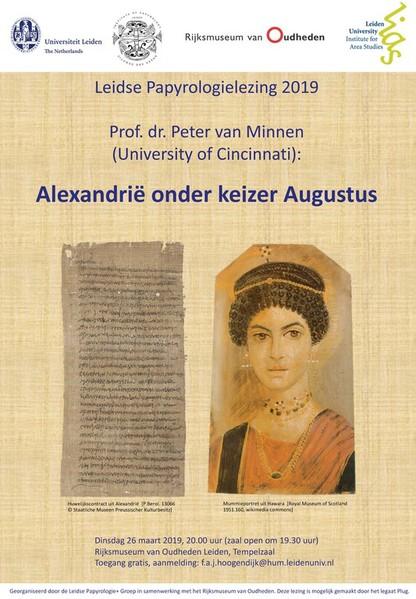 Leidse Papyrologielezing | Alexandrië onder keizer Augustus @ Rijksmuseum van Oudheden