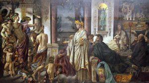 """""""Je houdt van kip met appelmoes"""": Plato's filosofie van de liefde @ Enschede"""