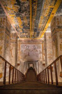 Recent onderzoek in het graf van Ramses III @ Leiden
