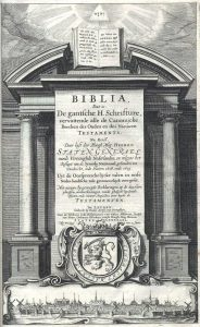 De Statenvertaling van de Bijbel en het Nabije Oosten @ Dordrecht