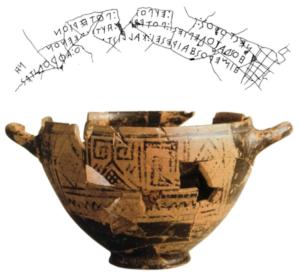 De echte leeftijd van het Griekse alfabet @ Online